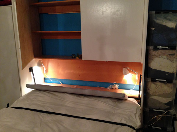 Double Bed Headboard (open)