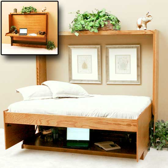 Horizontal Wall Bed Cheap Sideways Murphy Bed