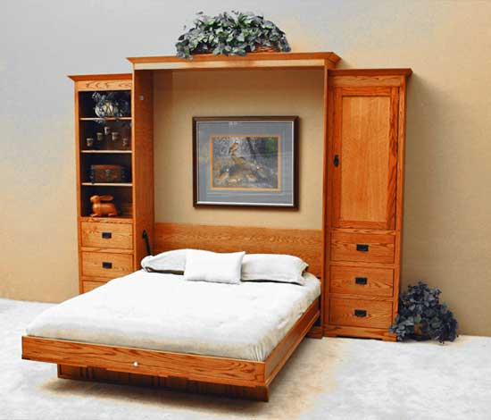 Cheap Modern Bed: Modern Murphy Bed (affordable Designs For Modern Interior