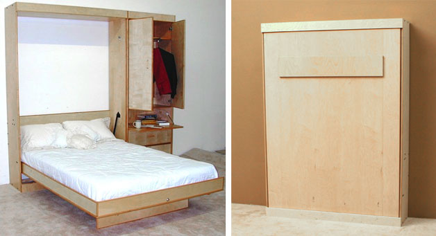 murphy beds are widely known as beds this bed is a wall bed pull down bed a bed that is hinged at one end to store vertically against the